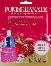 Духи, Парфюмерия, косметика Восстанавливающая тканевая маска с экстрактом граната - Ekel Pomegranate Ultra Hydrating Essence Mask