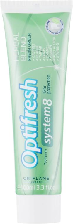 """Зубная паста """"Оптифреш-Травяной комплекс"""" - Oriflame Optifresh"""