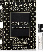 Духи, Парфюмерия, косметика Bvlgari Goldea The Roman Night - Парфюмированная вода (пробник)