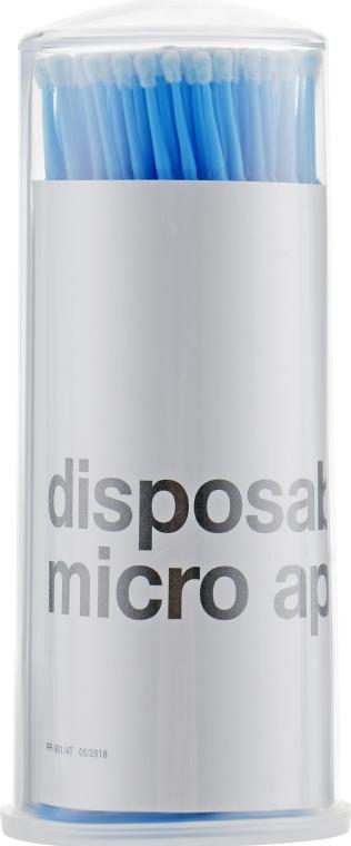 Микробраш для наращивания и снятия ресниц, синий, MWR-901 - MaxMar Micro Applicators