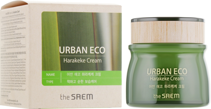 Питательный крем - The Saem Urban Eco Harakeke Cream