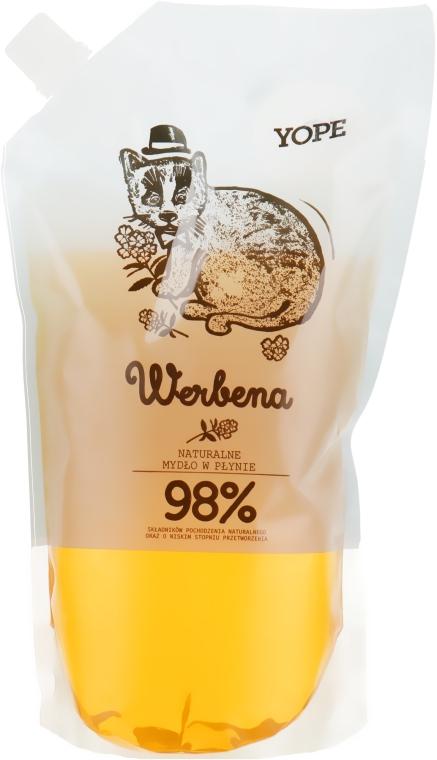 """Жидкое мыло """"Вербена"""" - Yope Verbena Natural Liquid Soap (дой-пак)"""