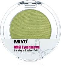Духи, Парфюмерия, косметика Одноцветные тени для век - Miyo Omg Eyeshadows