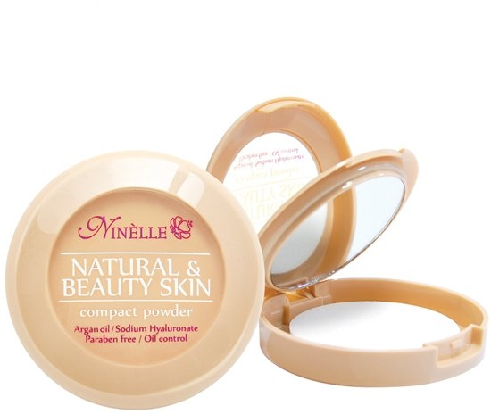 Пудра компактная - Ninelle Natural & Beauty Skin