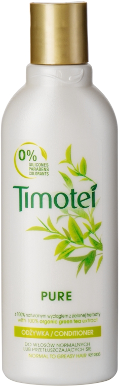Бальзам для волосся - Timotei Pure Conditioner — фото N1