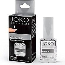 Духи, Парфюмерия, косметика Верхнее покрытие для матового эффекта - Joko Manicure Salon Matt Top Coat