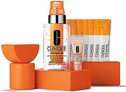 Духи, Парфюмерия, косметика Набор - Clinique X-mas Set (jelly/115ml+conc/10ml+cleanser/7x0.5g+eye/gel/5ml)