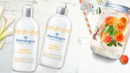 Крем-гель для душа с морошкой для сухой и очень сухой кожи - Barnangen Nordic Care Nutritive Shower Cream (мини) — фото N3