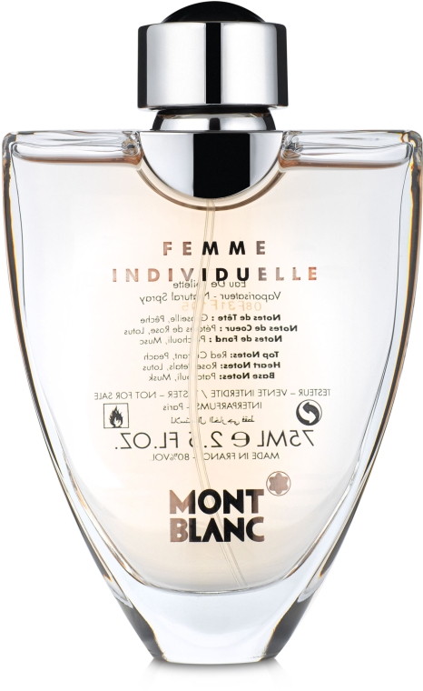 Montblanc Femme Individuelle - Туалетная вода (тестер с крышечкой)