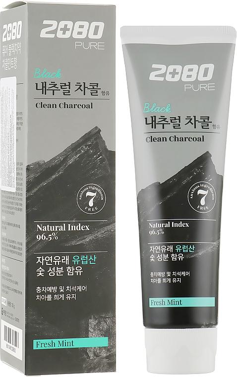 Отбеливающая зубная паста с углем - Dental Clinic 2080 Pure Charcoal Toothpaste
