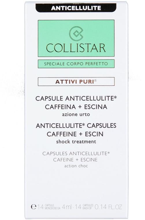 Антицеллюлитные капсулы - Collistar Anticellulite Capsules Caffeine — фото N3
