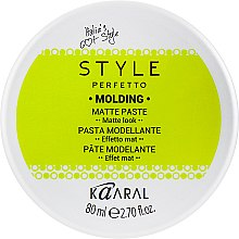 Духи, Парфюмерия, косметика Матовая паста - Kaaral Style Perfetto Molding Matte Paste