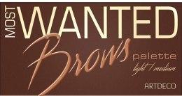 Палетка для бровей - Artdeco Most Wanted Brows Palette — фото N2
