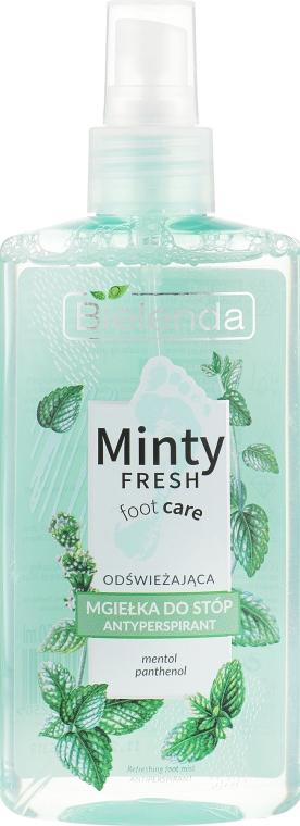Спрей-антиперспирант для ног - Bielenda Minty Fresh Foot Care Antiperspirant