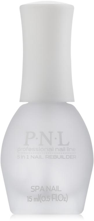 Восстанавливающее средство для ногтей №402 - PNL Professional Nail Line Treatment 5 in 1 Nail Rebuilder