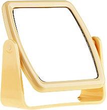 Духи, Парфюмерия, косметика Зеркало на подставке 85727, квадратное, желтое - Top Choice Beauty Collection Mirror