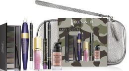 Духи, Парфюмерия, косметика Набор - Keenwell Various Extra Army Couture Kit (lip/shine/4g + eye/pencil/1.5g + eye/pencil/1.5g + shadows/1pcs + mascara/15ml + rouge/10ml + lip/liner/0.3g + bag)
