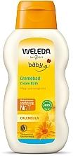 Духи, Парфюмерия, косметика Молочко для купания младенцев - Weleda Calendula Baby Cream Bath