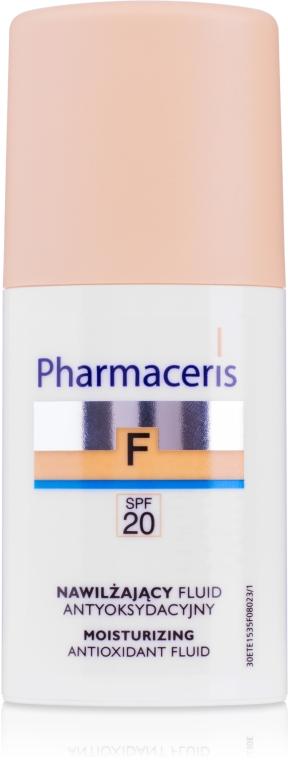 Увлажняющий тональный флюид SPF20 - Pharmaceris F Moisturizing Fluid Foundation SPF20
