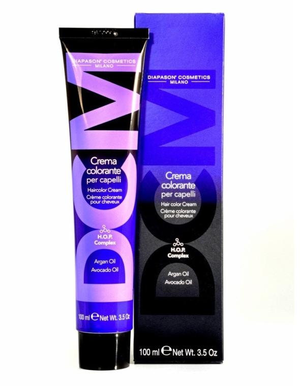 Крем-краситель для волос с низким содержанием аммиака - DCM HOP Complex Hair Color Cream