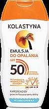 Духи, Парфюмерия, косметика Защитная эмульсия для загара SPF50 - Kolastyna