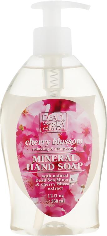 Жидкое мыло с минералами Мертвого моря и ароматом вишневых цветов - Dead Sea Collection Cherry Blossom with Natural Dead Sea Minerals&Cherry Oil Hand Soap