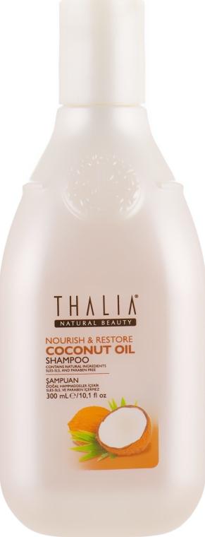 Питательный шампунь для волос с кокосовым маслом - Thalia Coconut Oil Shampoo