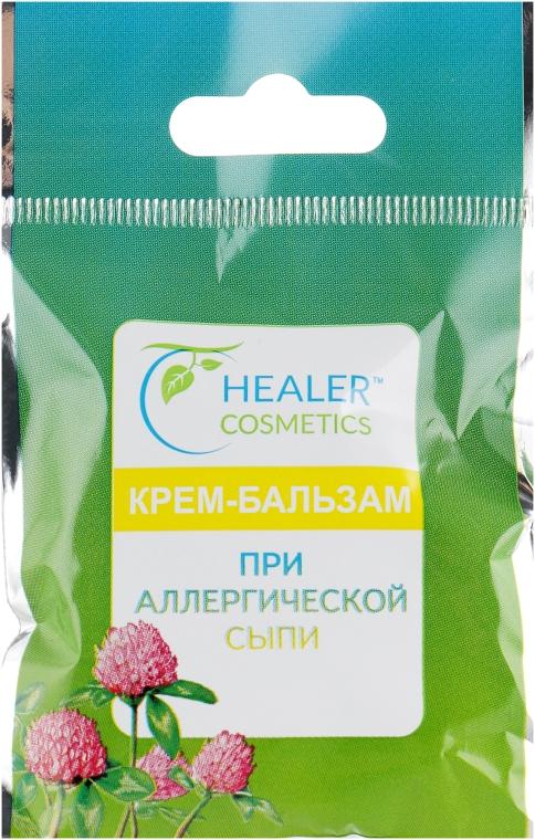 Крем-бальзам при аллергической сыпи - Healer Cosmetics