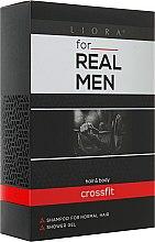 Духи, Парфюмерия, косметика Набор - Velta Cosmetic For Real Men Crossfit (sh/250 ml + gel/250 ml)