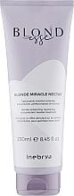 Духи, Парфюмерия, косметика Маска для волос оттенков блонд - Inebrya Blondesse Blonde Miracle Nectar