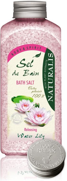 Соль для ванны - Naturalis Sel de Bain Water Lily Bath Salt