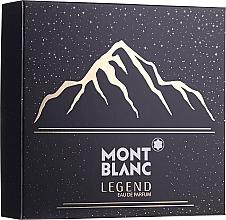 Духи, Парфюмерия, косметика Montblanc Legend - Набор (edp/100ml + ash/balm/100ml + sh/gel/100ml)