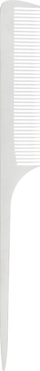 Расческа для волос, металлическая, 13809, серая - SPL Metal Hair Combs