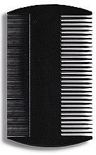 Духи, Парфюмерия, косметика Гребень для волос 8,8 см, черный - Donegal Hair Comb