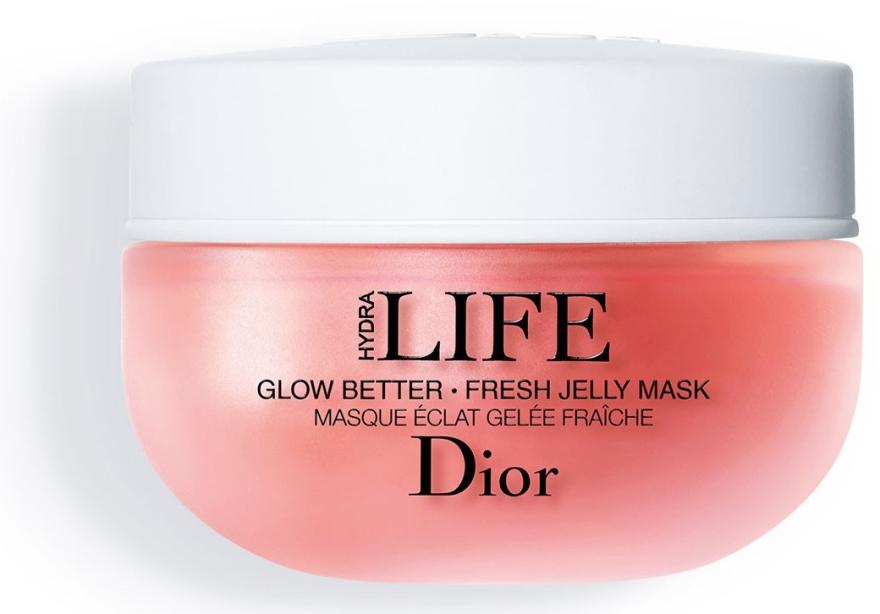 Маска-желе для лица - Dior Hydra Life Glow Better Fresh Jelly Mask