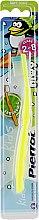 Духи, Парфюмерия, косметика Детская зубная щетка з ароматом фруктов, желтая - Pierrot Piwi