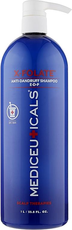 Шампунь против перхоти, себорейного дерматита и различных проблем кожи головы - Mediceuticals Scalp Therapies X-Folate