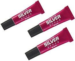 Духи, Парфюмерия, косметика Акриловый клей для накладных ресниц, FR 101 - Silver Style Eyelashes Glue Black