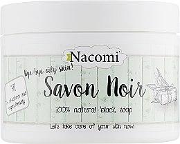 Духи, Парфюмерия, косметика Черное мыло - Nacomi Savon Noir Soap