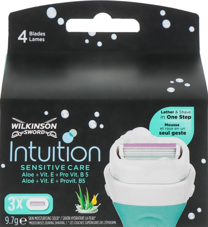 Сменные кассеты для бритья, 3 шт. - Wilkinson Sword Intuition Sensitive Care