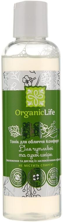 "Тоник для лица ""Комфорт"" - Organic Life"