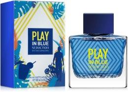 Духи, Парфюмерия, косметика Antonio Banderas Play In Blue Seduction For Men - Туалетная вода