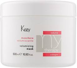 Духи, Парфюмерия, косметика Маска для объема волос с морским коллагеном - Kezy Volume Volumizing Mask