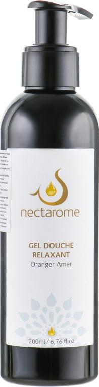 Гель для душа релаксирующий с горьким апельсином - Nectarome Gel douche Relaxant Oranger amer