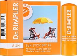 Духи, Парфюмерия, косметика Солнцезащитный карандаш SPF 30 - Dr. Rimpler Sun Stick Spf 30