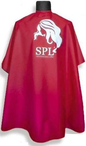 Профессиональный пеньюар, бордовый, 905073-B - SPL