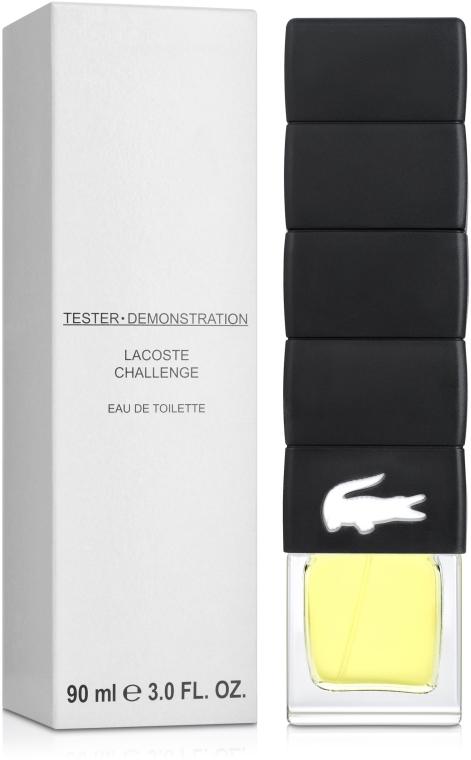 Lacoste Challenge - Туалетная вода (тестер с крышечкой) — фото N2