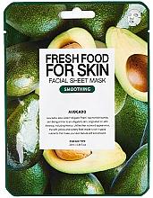 "Духи, Парфюмерия, косметика Тканевая маска для лица ""Авокадо"" - Superfood For Skin Facial Sheet Mask Avocado Smoothing"