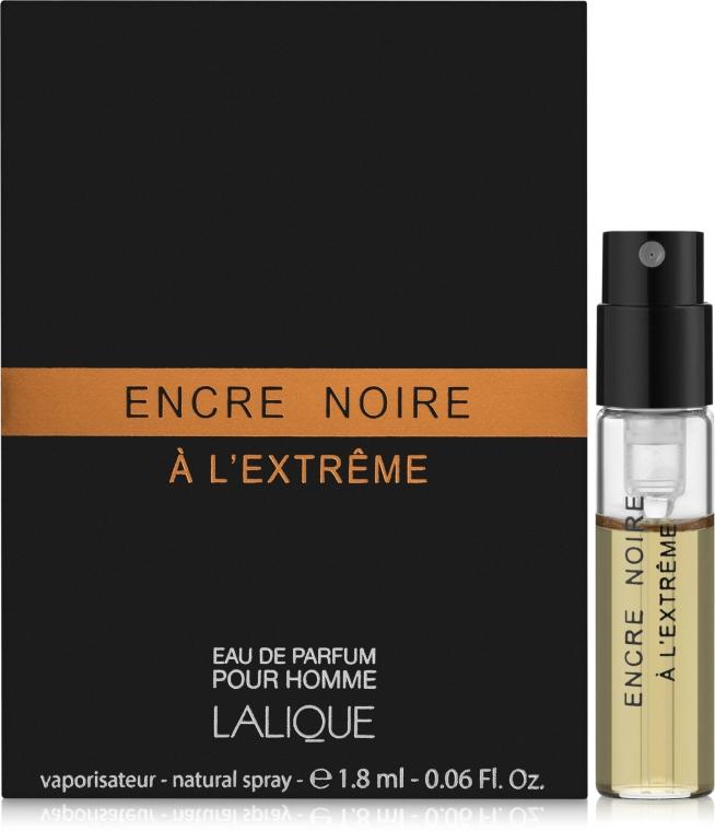 Lalique Encre Noire A L`Extreme - Парфюмированная вода (пробник)