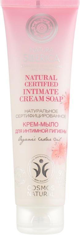 Натуральное сертифицированное крем-мыло для интимной гигиены - Natura Siberica Natural Certified Intimate Cream Soap